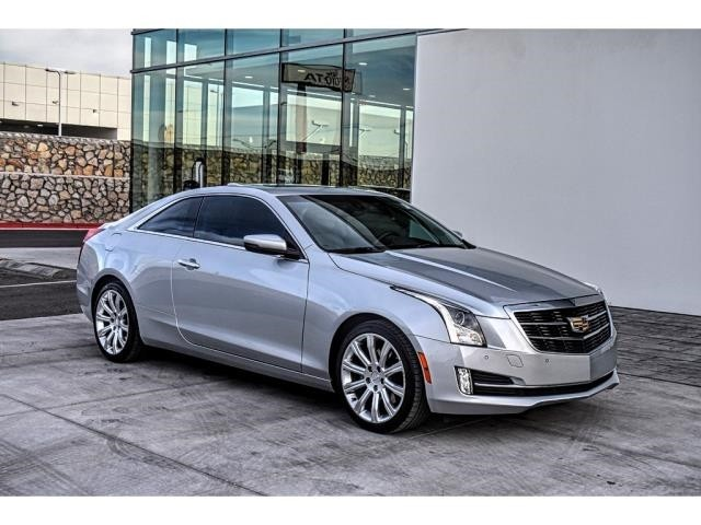 Pre Owned 2017 Cadillac Ats Coupe Luxury Rwd Coupe In El Paso