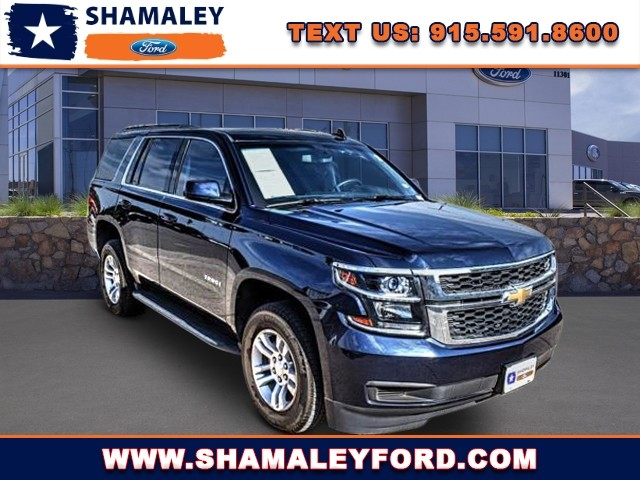 Pre Owned 2017 Chevrolet Tahoe Ls Offsite Location
