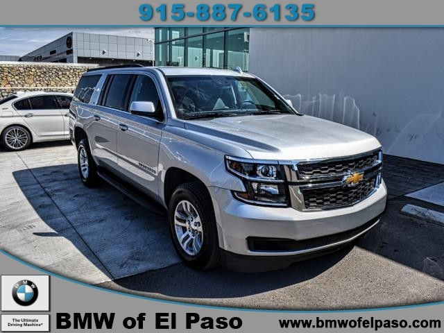 Chevrolet El Paso >> Pre Owned 2019 Chevrolet Suburban Lt In Stock