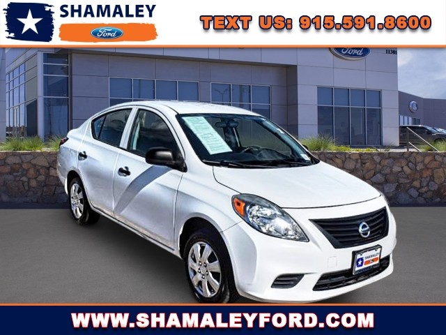 Pre-Owned 2014 Nissan Versa S