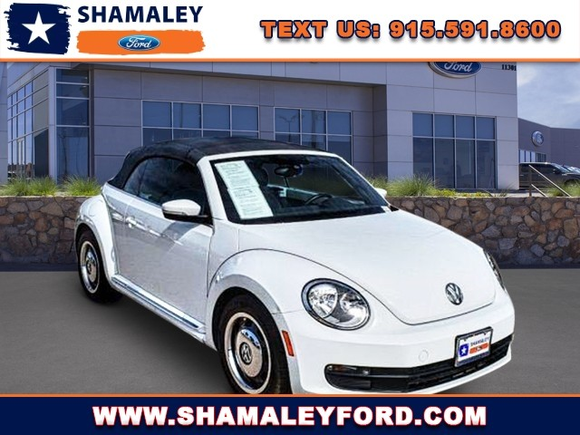 Pre-Owned 2016 Volkswagen Beetle Convertible 1.8T Denim