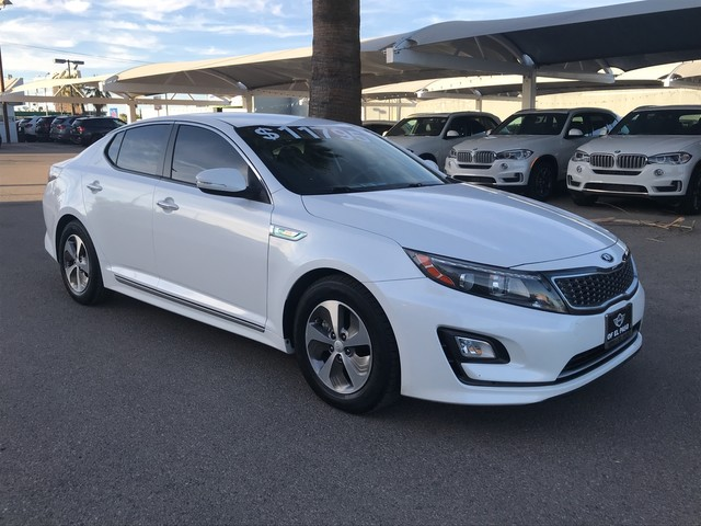 Pre-Owned 2014 Kia Optima Hybrid LX Hybrid, Leather Steering Wheel ...