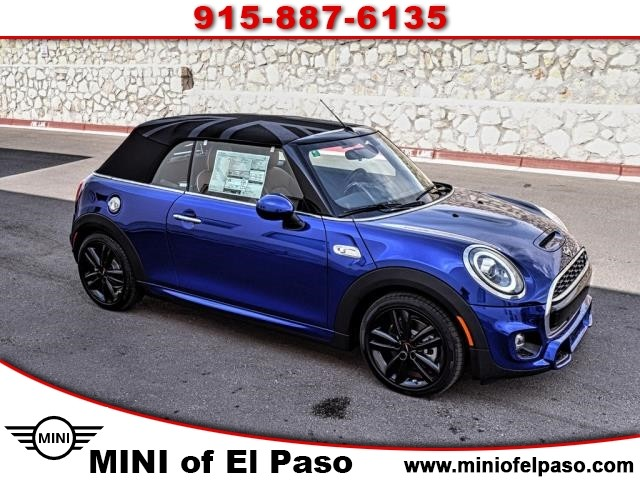 New 2019 Mini Cooper S Convertible Front Wheel Drive In Stockcooper
