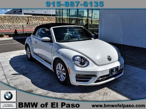 Pre-Owned 2018 Volkswagen Beetle Convertible S